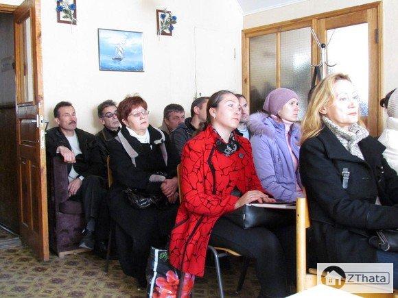 Житомиряни - вкладники «Олвіта-Буд» об'єднались для спільної боротьби +ФОТО