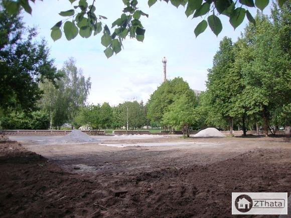 У Житомирі на Польовому майдані буде сучасний дитячий майданчик. ФОТО