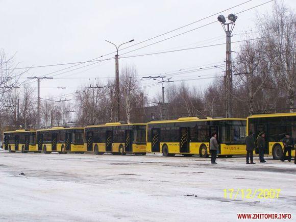 Дебой забув про ЛАЗи, які Житомир отримав за часів Шелудченко. ФОТО. ВІДЕО