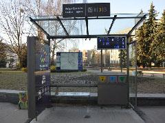 У  Житомирі з'явилася ще одна сучасна зупинка