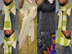 Як стильно зав'язати шарф