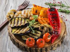 Овочі на багатті