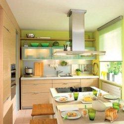 Как обустроить крошечную кухню