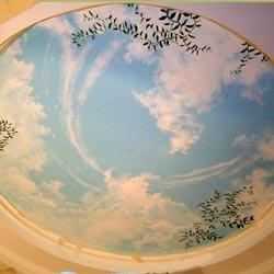 Декор потолка штукатуркой + Видео