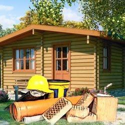 Строительные материалы для садового домика