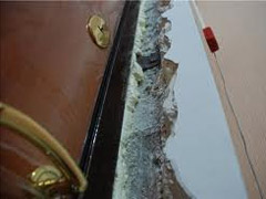 Доводка дверных проемов своими руками, после монтажа железной двери.