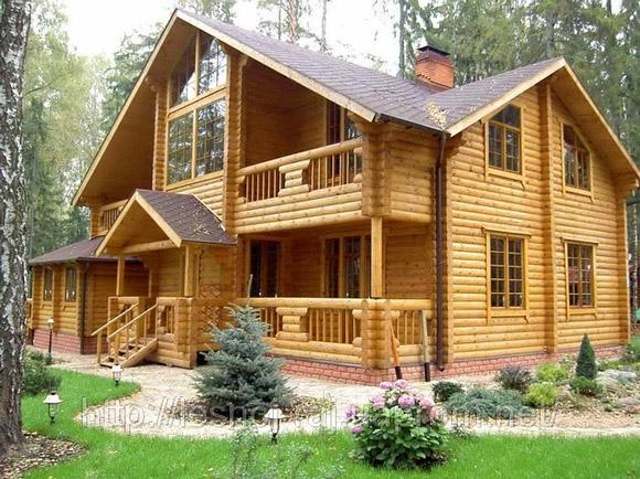 Неповторимая гармония и волшебный уют деревянного дома + Фото