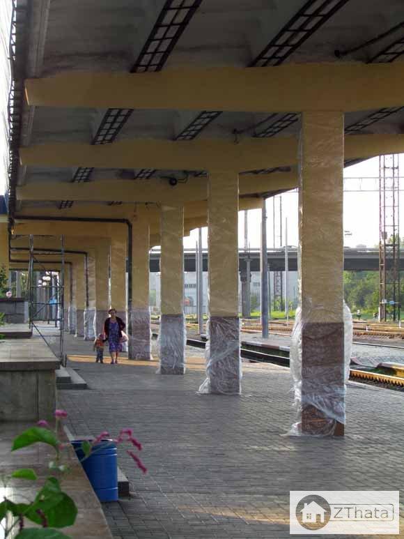 На станції Житомир тривають роботи по електрифікації  + ФОТО