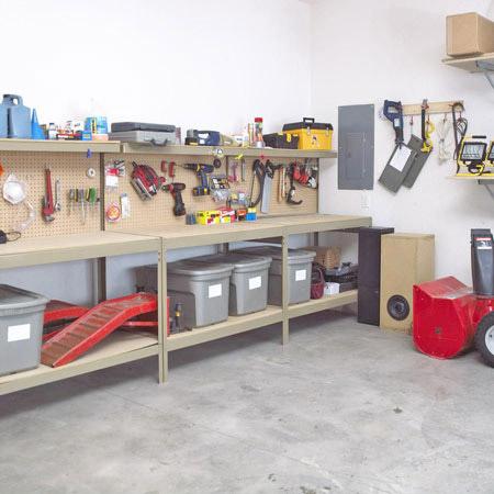 Все про зберігання речей у гаражі + Відео