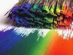Виды декоративных красок для стен и потолков.