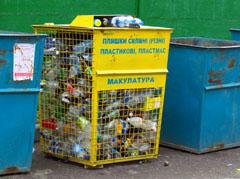 Влада Житомира хоче запровадити у місті роздільний спосіб збору сміття