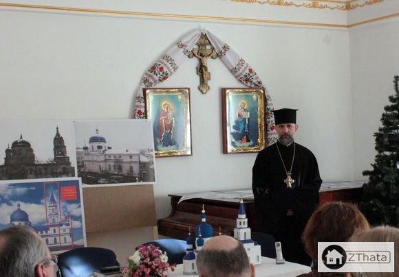 На Св.Михайлівському кафедральному соборі відновлять дзвіницю, зруйновану радянською владою. ФОТО
