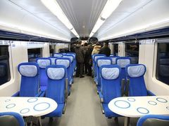 В Украине испытали скоростной поезд к Евро-2012. ФОТО
