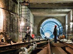 Станції метро «Виставковий центр» і «Одеська площа» відкриють до кінця року