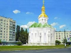 У Житомирі освятили земельну ділянку під будівництво Свято-Юр'ївської Козацької церкви. ФОТО