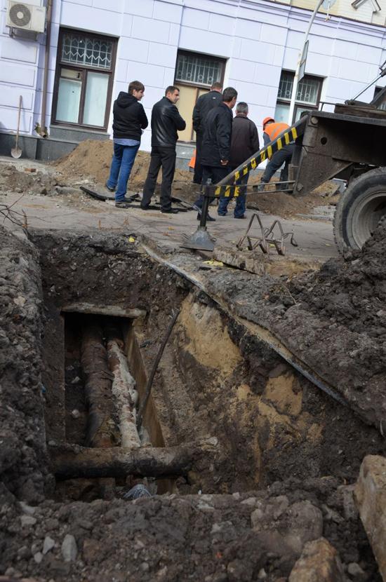 У Житомирі почали реконструкцію пішохідної вулиці Михайлівська. ФОТО