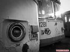 Працівники Житомирського ТТУ збирають тролейбуси і трамваї з металобрухту. ФОТО