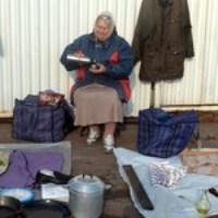 Для вуличних торговців у Житомирі створили новий блошиний ринок. ФОТО