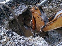 Житомирські комунальники завершили ремонт на вул.Чехова і засипали канаву