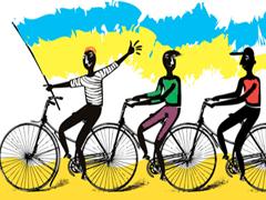 800-кілометровий велопробіг до Дня незалежності