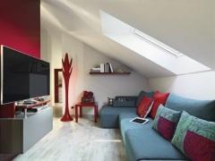 Ідеї для дизайну інтер'єру мансардного поверху в будинку