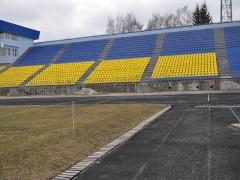 Стадіон «Полісся» у Житомирі вже готовий до асфальтування та прокладання бігових доріжок